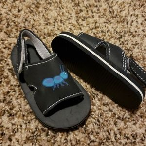 Adorable ant baby sandals